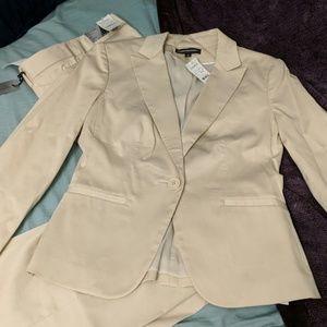 Brand New Express Tan Pant Suit